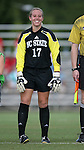 07 October 2007: NC State's Sidney Little. The Duke University Blue Devils defeated the North Carolina State University Wolfpack 1-0 at Method Road Soccer Stadium in Raleigh, North Carolina in an Atlantic Coast Conference NCAA Division I Women's Soccer game.