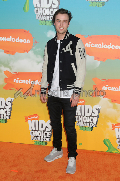 12 March 2016 - Inglewood, California - Sterling Beaumon. 2016 Nickelodeon Kids' Choice Awards held at The Forum. Photo Credit: Byron Purvis/AdMedia