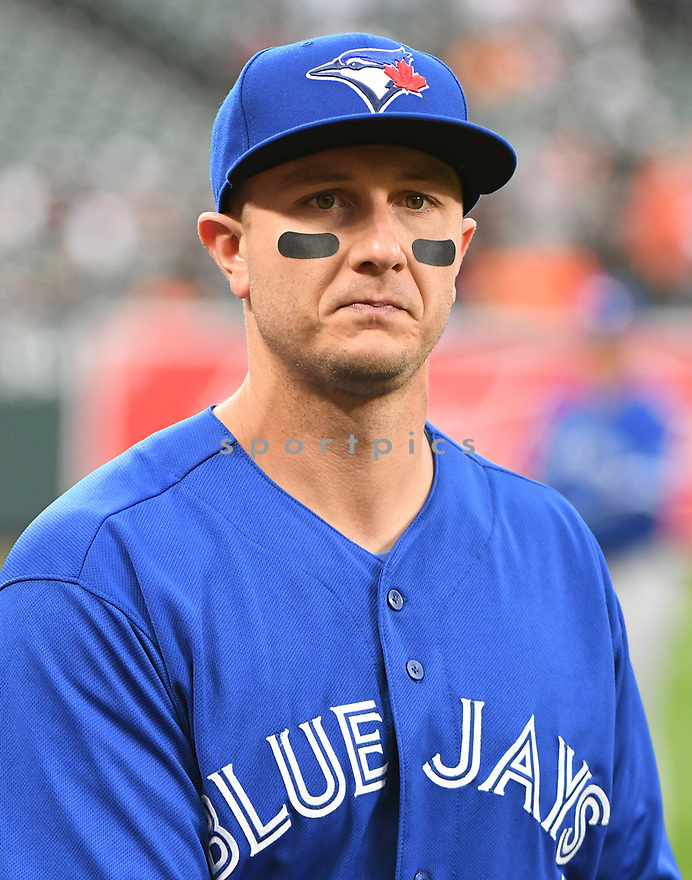 Toronto Blue Jays Troy Tulowitzki (2) during a game against the Baltimore Orioles on April 5, 2017 at Oriole Park at Camden Yards in Baltimore, MD. The Orioles beat the Blue Jays 3-1.