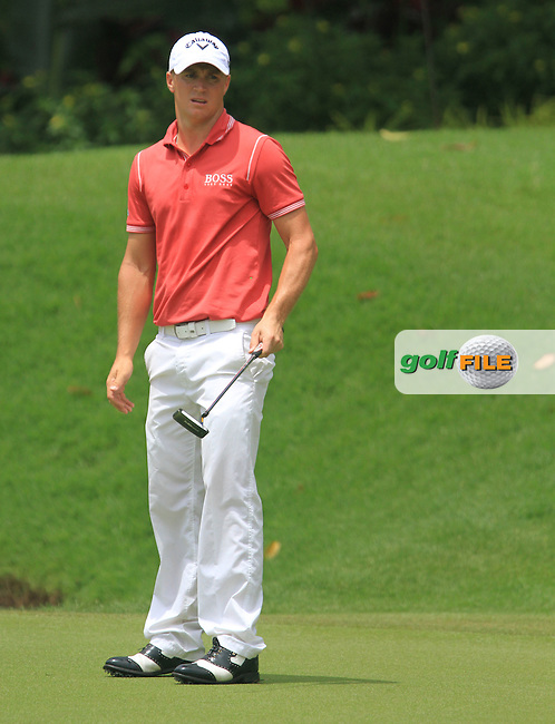 Aleander Noren (SWE) on the 15th during the Pro-Am of the Maybank Malaysian Open 2012 at Kuala Lumpur Golf and Country Club, Kuala Lumpur, Malaysia...(Photo Jenny Matthews/www.golffile.ie)