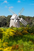 Old Higgin's Farm Windmill at Drummer Boy Park and Museum, Brewster, Cape Cod, MA, Massachusetts