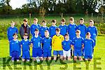 The Ballyhar team that played St Brendans Park in Ballyhar on Saturday