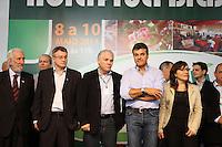 CURITIBA, PR, 08.05.2014 -  HORTIFRUTI 2014 / CURITIBA -  O governador Beto Richa, junto com o secretário da Agricultura e do Abastecimento, Norberto Ortigara, e o presidente da Associação Brasileira das Centrais de Abastecimento (Abracen), Mário Maurici de Lima Morais, abre nesta quinta-feira (8) a HortiFruti Brasil Show 2014, evento no Ceasa Curitiba na manha dessa quinta-feira (08). Foto: Paulo Lisboa / Brazil Photo Press)