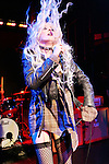 "April 13, 2011 New York: Singer Taylor Momsen performs ""Domnion"" on April 13, 2011 in New York"