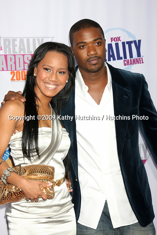 Ray J Norwood & Guest.arriving at the 2009 Fox Reality Channel Really Awards.The Music Box at Fonda Theater.Los Angeles,  CA.October 13,  2009.©2009 Kathy Hutchins / Hutchins Photo.