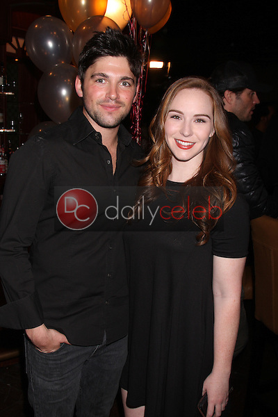 Robert Adamson, Camryn Grimes<br /> at the Young and Restless 41st Anniversary Cake, CBS Television City, Los Angeles, CA 03-25-14<br /> David Edwards/DailyCeleb.com 818-249-4998
