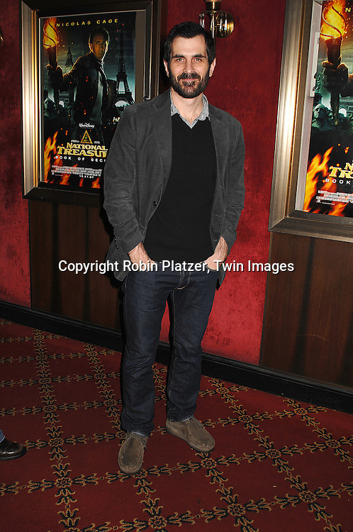 """actor Ty Burrell.arriving to The World Premiere of """"National Treasure: Book of Secrets"""" on December 13, 2007 at The Ziegfeld Theatre. .Robin Platzer, Twin Images"""