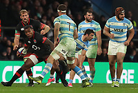 England's Semesa Rokoduguni <br /> <br /> Photographer Rachel Holborn/CameraSport<br /> <br /> International Rugby Union Friendly - Old Mutual Wealth Series Autumn Internationals 2017 - England v Argentina - Saturday 11th November 2017 - Twickenham Stadium - London<br /> <br /> World Copyright &copy; 2017 CameraSport. All rights reserved. 43 Linden Ave. Countesthorpe. Leicester. England. LE8 5PG - Tel: +44 (0) 116 277 4147 - admin@camerasport.com - www.camerasport.com