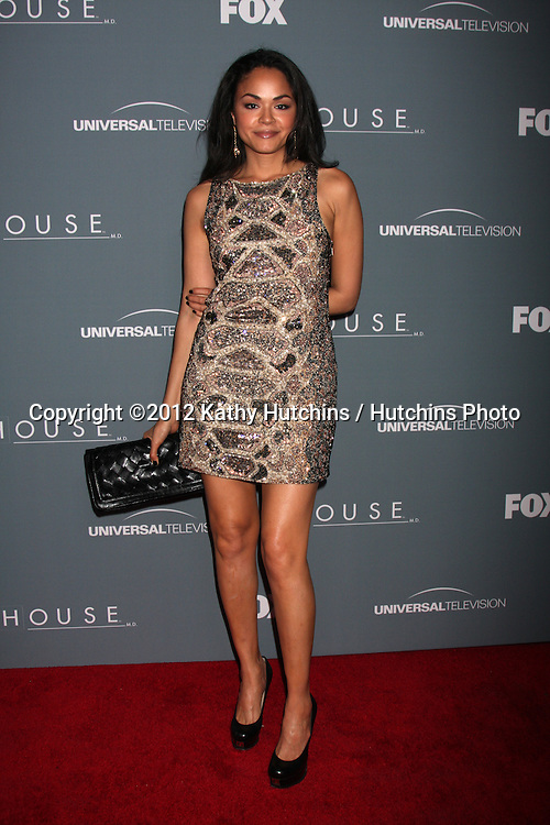 LOS ANGELES - APR 20:  Karen Olivo arrives at the House Series Finale Wrap Party at Cicada on April 20, 2012 in Los Angeles, CA