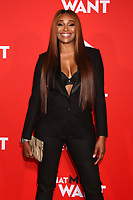"LOS ANGELES - JAN 28:  Cynthia Bailey at the ""What Men Want"" Premiere at the Village Theater on January 28, 2019 in Westwood, CA"