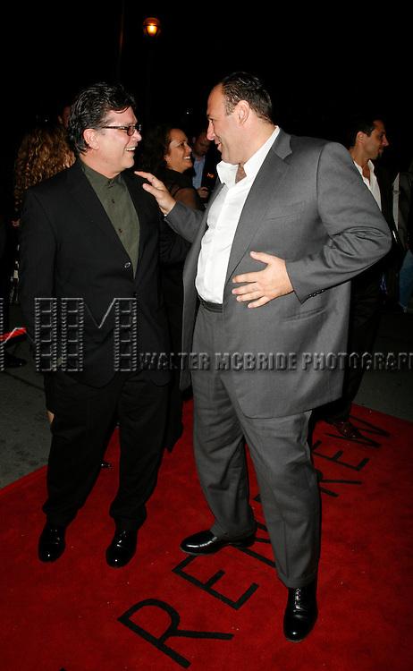 Steven Zaillian &amp; James Gandolfini<br /> attending the Toronto International Film Festival <br /> ( TIFF ) Gala Preniere of ALL THE KING's MEN  at the Roy Thomson Hall on September 10, 2006 in Toronto, Canada.