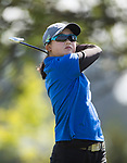 Juliana Hung during the New Zealand Amateur Golf Championship at Russley Golf Course, Christchurch, New Zealand. Wednesday 1 November 2017. Photo: www.bwmedia.co.nz