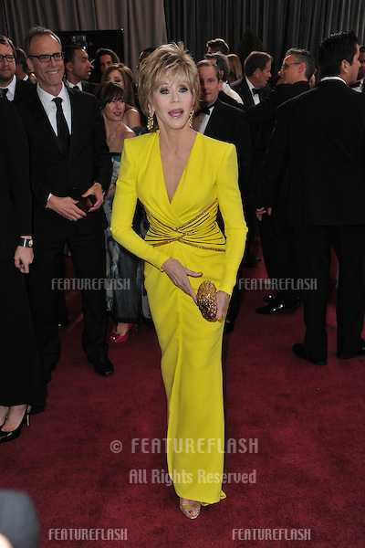Jane Fonda at the 85th Academy Awards at the Dolby Theatre, Hollywood..February 24, 2013  Los Angeles, CA.Picture: Paul Smith / Featureflash