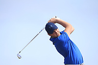 Robert Brazill (Naas) on the 17th tee during Round 2 - Strokeplay of the North of Ireland Championship at Royal Portrush Golf Club, Portrush, Co. Antrim on Tuesday 10th July 2018.<br /> Picture:  Thos Caffrey / Golffile