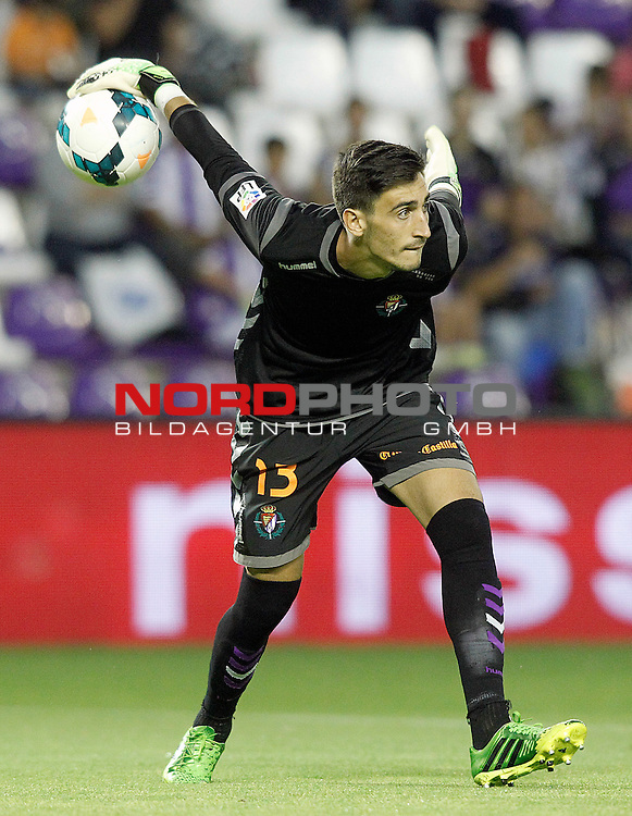 Real Valladolid's Diego Marino during La Liga match.August 31,2013. Foto © nph / Acero)