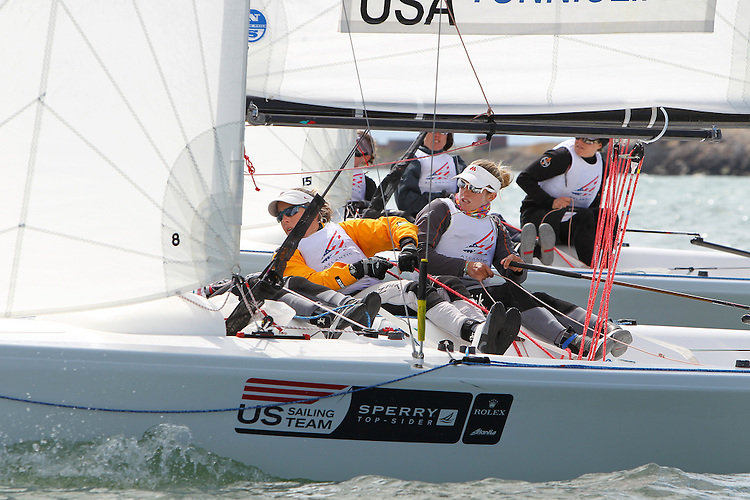 The US Olympic Team Qualifying Regatta, May 4th-9th, 2012...© Richard Langdon/Ocean Images. Image copyright free for editorial use only. For any other use please contact Richard Langdon by phone at +44 7850 913500 or email richard@oceanimages.co.uk.
