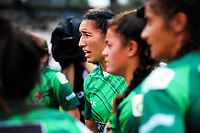 Sarah Goss. Women's pool match between Manawatu and Wellington on day one of the 2018 Bayleys National Sevens at Rotorua International Stadium in Rotorua, New Zealand on Saturday, 13 January 2018. Photo: Dave Lintott / lintottphoto.co.nz