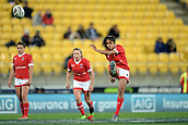9th June 2017, Westpac Stadium, Wellington, New Zealand; International Womens Rugby; New Zealand versus Canada;  Canada player Magali Harvey takes a penalty kick