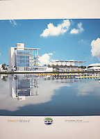 Sarasota, Florida, USA. Artist impression of the completed Nathan Benderson Park. Rowing Course Finish Tower and Offices for the 2017 FISA World Rowing Championships.  Thursday  27/10/2016 [Mandatory Credit; Peter SPURRIER/Intersport Images]