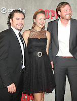 August 14, 2012 Kevin Ryan,Tanya Fischer,  Dyian Taylor at a premiere of BBC America's Copper at the Museum of Modern Art in New York City. © RW/MediaPunch Inc.