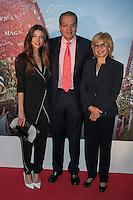 Juana Acosta, Fernando Carrillo and Cecilia Alvarez Correa pose during Juana Acosta tribute event in Madrid, Spain. January 27, 2015. (ALTERPHOTOS/Victor Blanco) /nortephoto.com<br /> nortephoto.com