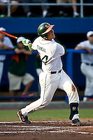 May 31, 2009:  NCAA Division 1 Gainesville Regional:    Miami catcher Yasmani Grandl (24) during action at Alfred A. McKethan Stadium on the campus of University of Florida in Gainesville.  The Florida Gators defeated the Miami Hurricanes 16-5 and will advance to the Super Regionals in Gainesville............