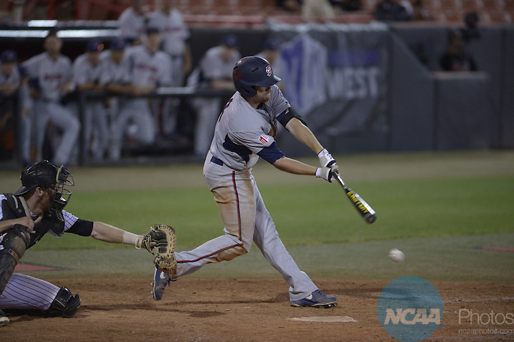 22 May 2014: UNLV against Fresno State during the Mountain West Baseball Championship Tournament at Earl E. Wilson Baseball Stadium in Las Vegas, NV. Peter Lockley/NCAA Photos