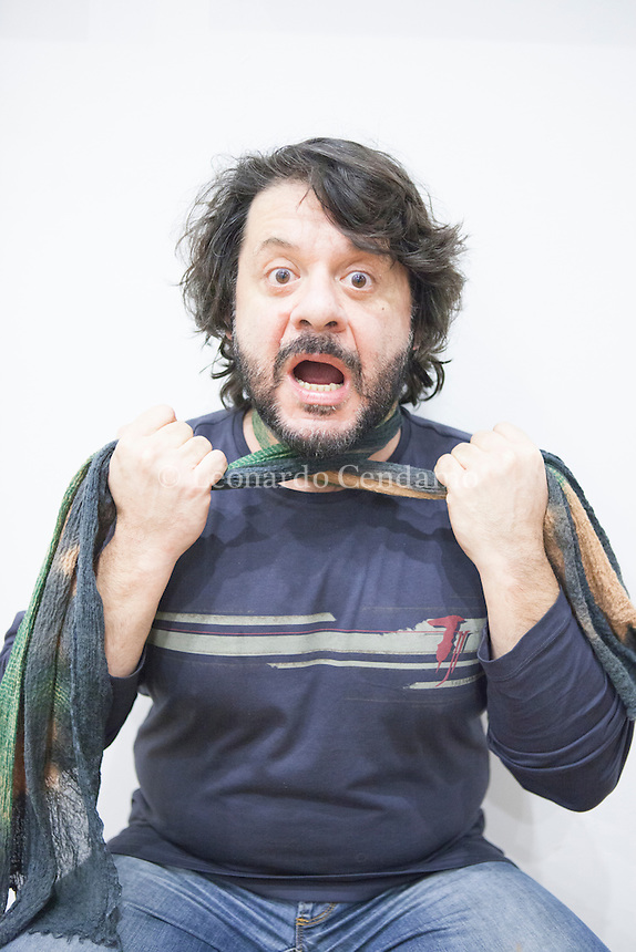 Pasquale Petrolo, in arte Lillo (Roma, 27 agosto 1962), è un attore italiano. È noto soprattutto per far parte del duo comico Lillo & Greg insieme a Claudio Gregori. Ex Iene. Milano, giovedì 23 gennaio 2014. © Leonardo Cendamo