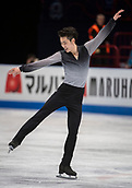 24th March 2018, Mediolanum Forum, Milan, Italy;  Boyang JIN (CHN) during the ISU World Figure Skating Championships, Men Free Skating at Mediolanum Forum in Milan, Italy