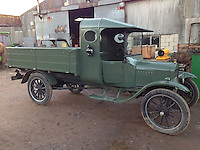 BNPS.co.uk (01202 558833)<br /> Pic: PhilYeomans/BNPS<br /> <br /> Yours for &pound;12,500 - 1922 Model T 1 ton truck.<br /> <br /> Garage that time forgot...<br /> <br /> Business is booming at Neil Tuckets time warp garage in the heart of Buckinghamshire - Where you can by any car&hellip;as long as its a Model T Ford.<br /> <br /> Despite his newest models being nearly 90 years old, Neil struggles to keep up with demand with customers snapping up one a week, despite their rudimentary levels of comfort and trim.<br /> <br /> Neil sources his spares from all over the globe and carefully puts the machines back together again.<br /> <br /> 'There like a giant meccano set really, and so beautifully simple and reliable they just won't let you down...You also don't require road tax or and MOT!'