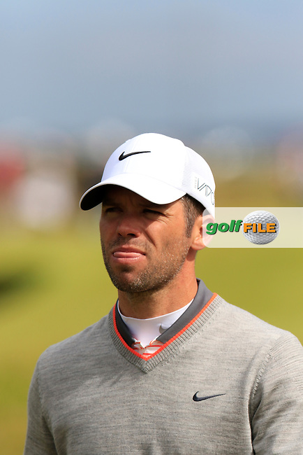 Paul CASEY (ENG) during Sunday's Round 3 of the 144th Open Championship, St Andrews Old Course, St Andrews, Fife, Scotland. 19/07/2015.<br /> Picture Eoin Clarke, www.golffile.ie