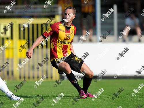 2013-07-07 / Voetbal / seizoen 2013-2014 / Rupel-Boom - KV Mechelen / Thomas Enevoldsen<br /><br />Foto: Mpics.be