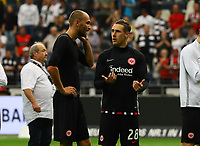 Bas Dost (Eintracht Frankfurt),  Dominik Kohr (Eintracht Frankfurt) - 01.09.2019: Eintracht Frankfurt vs. Fortuna Düsseldorf, Commerzbank Arena, 3. Spieltag<br /> DISCLAIMER: DFL regulations prohibit any use of photographs as image sequences and/or quasi-video.