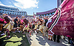 Florida State takes the field prior to the start of an NCAA college football game against Wake Forest in Tallahassee, Fla., Saturday, Oct. 15, 2016. (AP Photo/Mark Wallheiser)