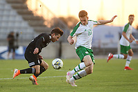 Connor Ronan of Republic of Ireland gets ready to make a challenge during Republic Of Ireland Under-21 vs Mexico Under-21, Tournoi Maurice Revello Football at Stade Parsemain on 6th June 2019