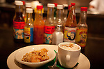 Jambalaya and gumbo samples on the Tastebud Tours food tour of Chicago, IL