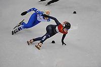 OLYMPIC GAMES: PYEONGCHANG: 10-02-2018, Gangneung Ice Arena, Short Track, Heats 500m Ladies, Yara van Kerkhof (NED), ©photo Martin de Jong