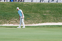 Sebastian Soderberg (SWE) in action on the 13th hole during final round at the Omega European Masters, Golf Club Crans-sur-Sierre, Crans-Montana, Valais, Switzerland. 01/09/19.<br /> Picture Stefano DiMaria / Golffile.ie<br /> <br /> All photo usage must carry mandatory copyright credit (© Golffile | Stefano DiMaria)
