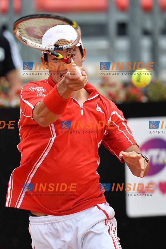 Kei Nishikori Japan .Roma 15/05/2013 Foro Italico .Tennis Internazionali d'Italia 2013 .Foto Andrea Staccioli Insidefoto
