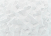 Full frame low poly white surface
