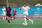 FC Barcelona vs Montpellier HSC: 1-2.<br /> Mariona Caldentey vs Sakina Karchaoui.