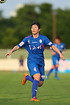 Yui Utsumi (Elfen), <br /> JULY 12, 2015 - Football / Soccer : <br /> 2015 Plenus Nadeshiko League Division 1 <br /> between NTV Beleza 1-0 AS Elfen Saitama <br /> at Hitachinaka Stadium, Ibaraki, Japan. <br /> (Photo by YUTAKA/AFLO SPORT)