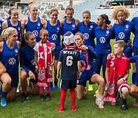St. Paul, MN - September 2, 2019:  The USWNT trains in preparation for an international friendly against Portugal at Allianz Field.