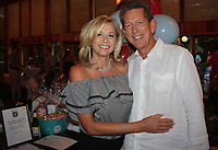 NWA Democrat-Gazette/CARIN SCHOPPMEYER Sheri and Woody Bassett attend Red, White and Baby Blue on July 7.