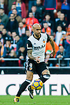 Simone Zaza of Valencia CF in action during the La Liga 2017-18 match between Valencia CF and Villarreal CF at Estadio de Mestalla on 23 December 2017 in Valencia, Spain. Photo by Maria Jose Segovia Carmona / Power Sport Images