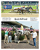 Ouick N Proud winning at Delaware Park on 8/16/14