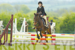 ..Cieran Healy Barradubh in action at the Castleisland Horse Show on Sunday