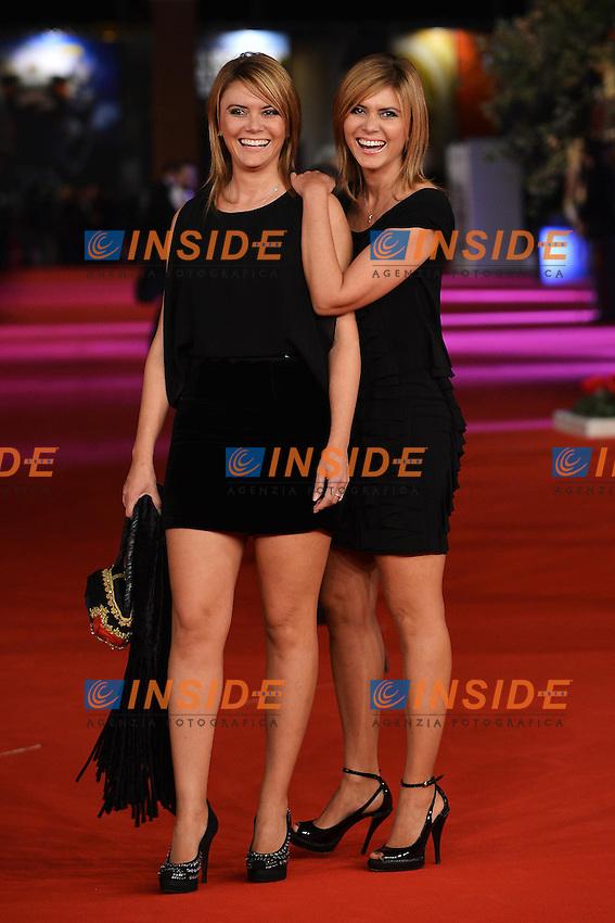 Laura e Silvia Squizzato.Roma 9/11/2012 Auditorium.Festival del Cinema di Roma.Foto Guido Aubry Elipics