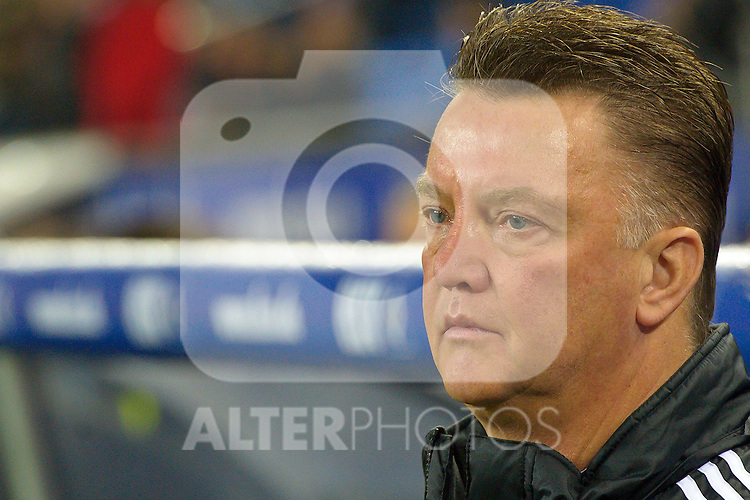 22.10.2010, Imtech Arena, Hamburg, GER, 1.FBL, Hamburger SV vs Bayern Muenchen im Bild Louis van Gaal  (Bayern Cheftrainer)    Foto © nph / Kokenge