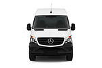 Car photography straight front view of a 2017 Mercedes Benz Sprinter Base 4 Door Cargo Van